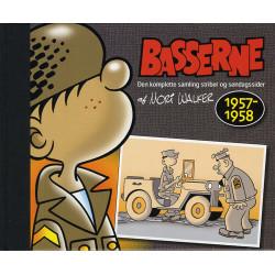 Basserne. 1957-1958: den komplette samling striber og søndagssider