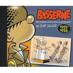 Basserne. 1955-1956: den komplette samling striber og søndagssider