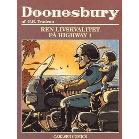 Doonesbury. Ren livskvalitet på Highway 1