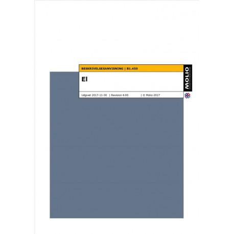 Beskrivelsesanvisning - el B1.450