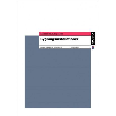 Basisbeskrivelse - bygningsinstallationer B2.400