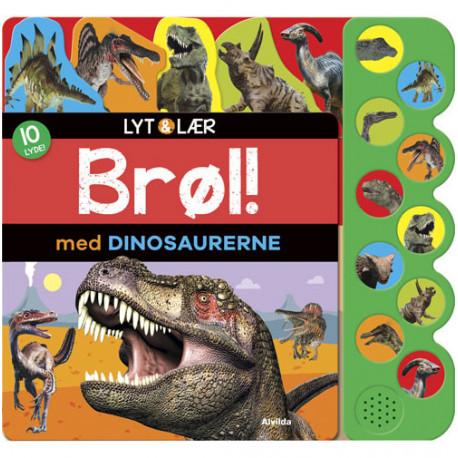 Lyt og lær - Brøl med dinosaurerne