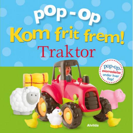 Kom frit frem - Traktor (pop op-overraskelse under hver flap)