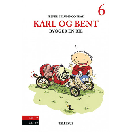 Karl og Bent -6: Karl og Bent bygger en bil