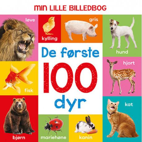 Min lille billedbog - De første 100 dyr