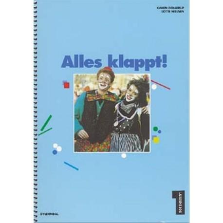Alles klappt, Lærerens bog (Bind 1)