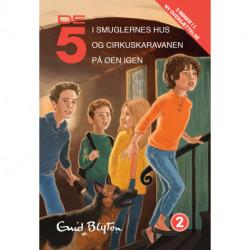 De 5, samlebind 2, De 5 i smuglernes hus, De 5 og cirkuskaravanen, De 5 på øen i