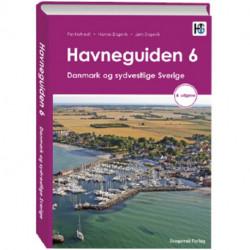 Havneguiden 6 Danmark og sydvestlige Sverige, 4 utgave: Havneguiden 6 Danmark og sydvestlige Sverige, 4 utgave