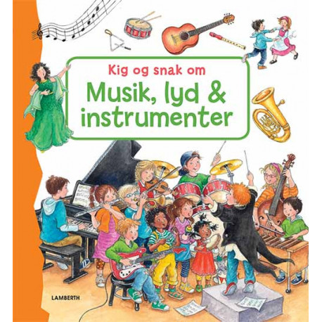 Kig og snak om musik, lyd og instrumenter