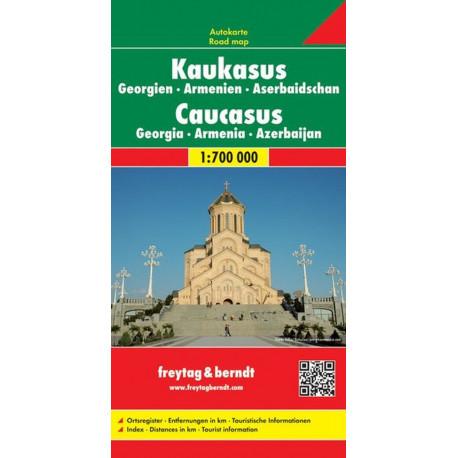 Caucasus, Georgia, Armenia & Azerbaijan