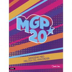 MGP 20: Sangene med melodi og akkorder