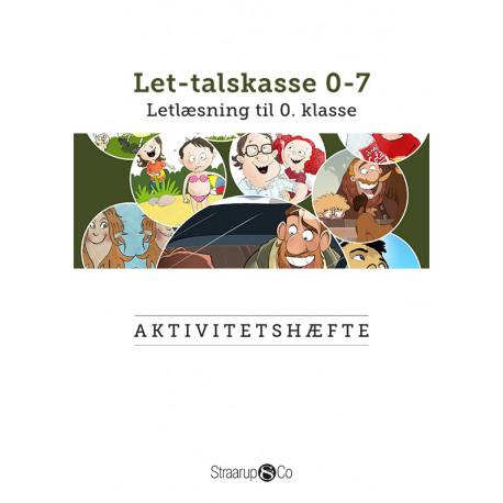 Aktivitetshæfte - Let-talskasse 0-7