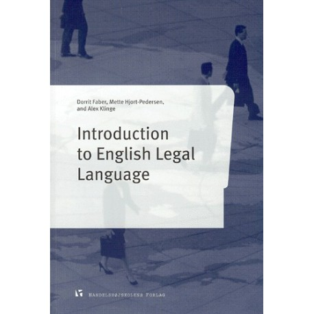 Introduction to English legal language