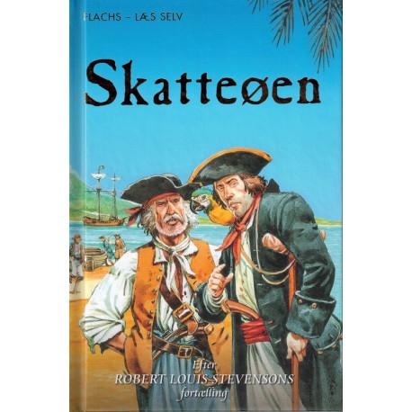FLACHS - LÆS SELV: Skatteøen: Efter Robert Louis Stevensons Roman