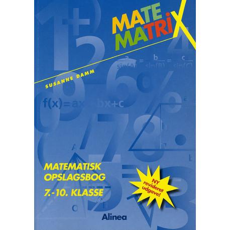 Matematrix 7.-10.kl. Opslagsbog