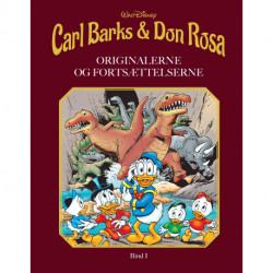 Carl Barks & Don Rosa Bind I: ORIGINALERNE OG FORTSÆTTELSERNE