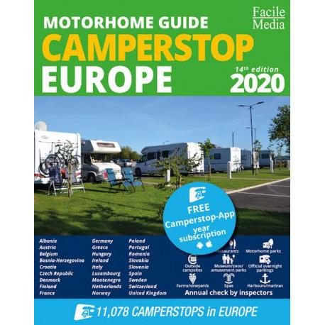 Camperstop Europe 2020 Motorhome Guide