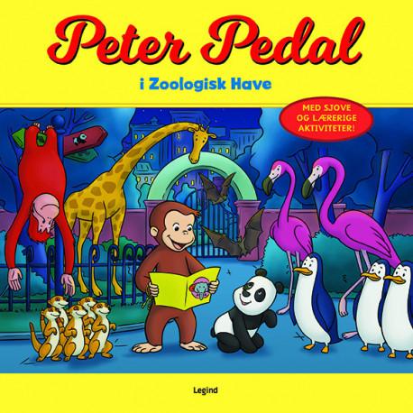 Peter Pedal i Zoologisk Have: Med sjove og lærerige aktiviteter!