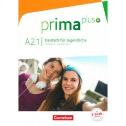 Prima plus - Deutsch für Jugendliche A2.1: Schülerbuch