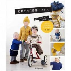 Drengestrik: strikkeopskrifter til drengetøj 0-8 år