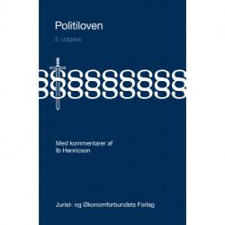 Politiloven: Med kommentarer