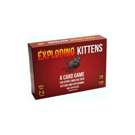 Exploding Kittens: Original - Dansk - Et kattens sjovt spil
