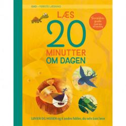 GAD - Første læsning: Læs 20 minutter om dagen: Løven og musen og 6 andre fabler, du selv kan læse