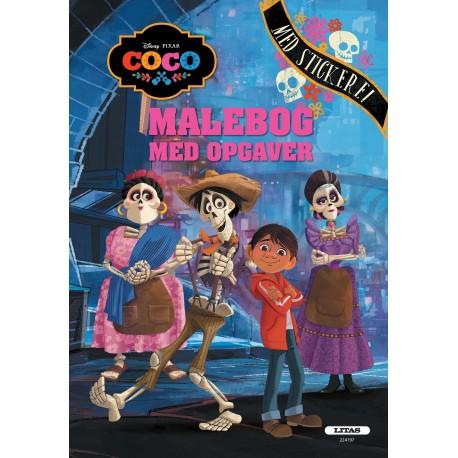 Coco: malebog med opgaver
