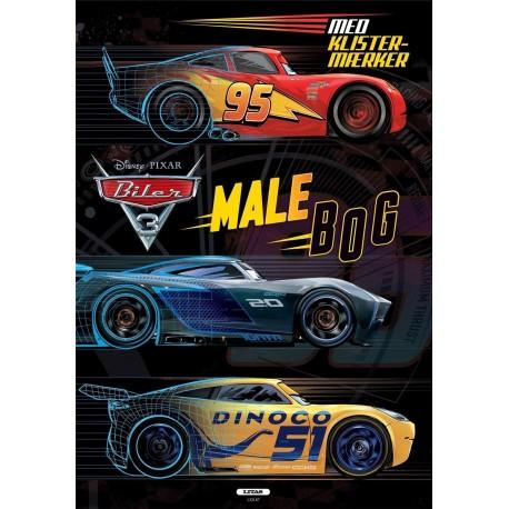 Biler 3 - Malebog med klistermærker