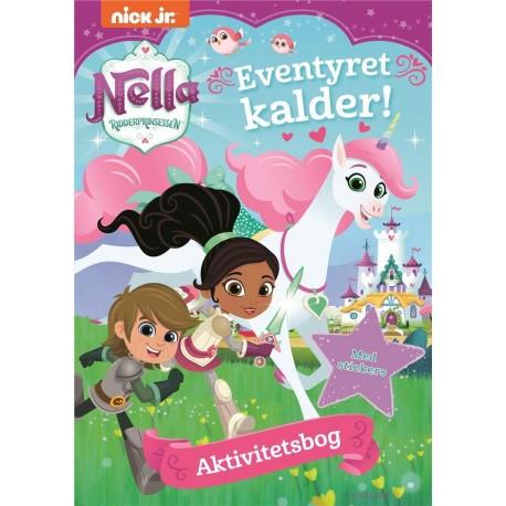 Ridderprinsessen Nella: aktivitetsbog