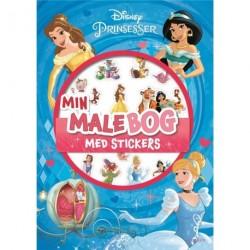 Disney Prinsesser: Malebog med klistermærker