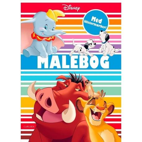 Disneys klassikere: Malebog
