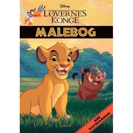 Løvernes Konge: Malebog