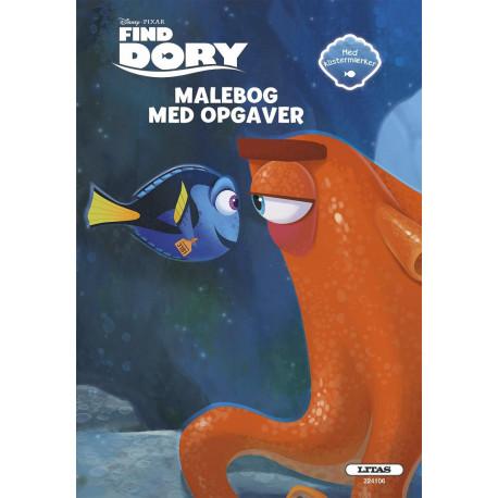 MALEBOG MED OPGAVER: FIND DORY