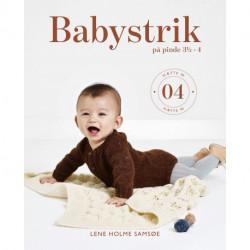 Babystrik på pinde 3 1/2 - 4: hæfte 04