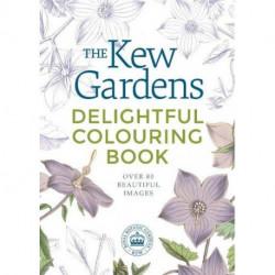 The Kew Gardens Delightful Colouring Book
