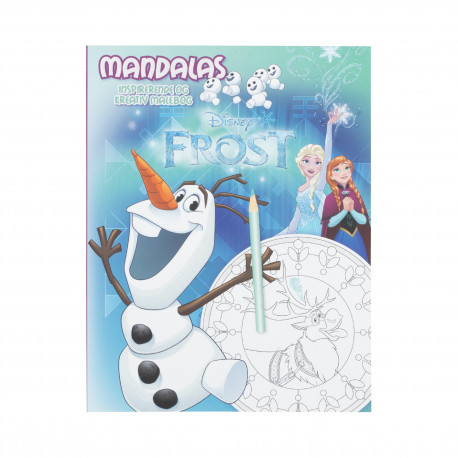 Disney FROST Mandalas OLAF: Inspirerende og kreativ malebog!