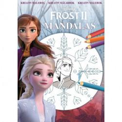 Disney Frost 2 Mandalas: Frost Mandalas - en kreativ malebog!