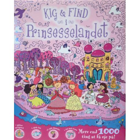 Kig & Find i Prinsesselandet: Mere end 1000 ting at få øje på!