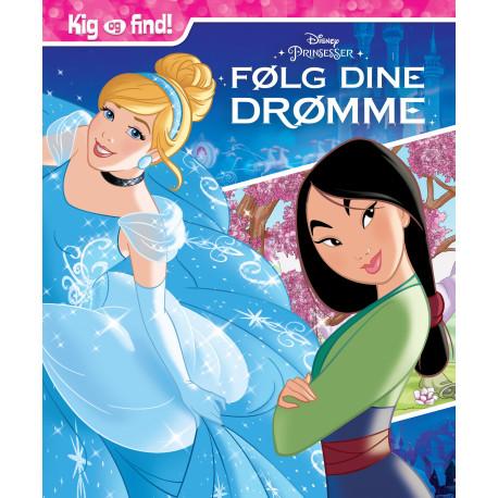 Disney Prinsesser Kig & Find - Følg dine drømme