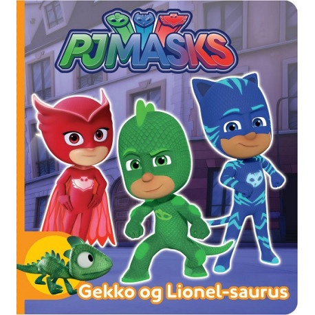 PJ Masks - Gekko og Lionel-saurus: Pyjamasheltene