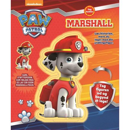 Paw Patrol - Marshall - Figur og historie: Tag figuren ud og begynd at lege!