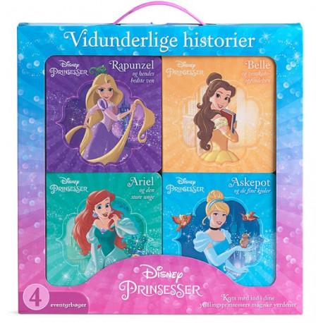 Disney Vidunderlige Historier - Prinsesser: 4 fine historier i en boks med håndtag!