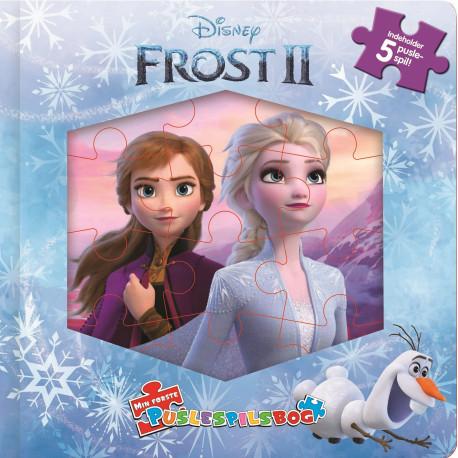 Disney Puslespilsbog Frost 2: Indeholder 5 puslespil!