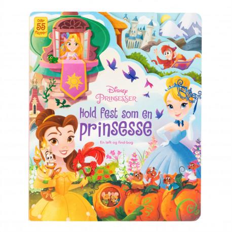 Disney - Hold fest som en prinsesse: Disney flapbog