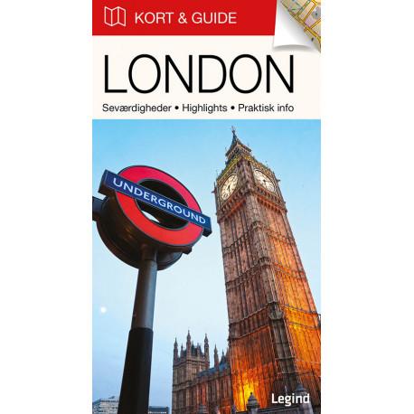 Kort & Guide – London: Seværdigheder • Highlights • Praktisk info