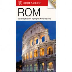 Kort & Guide – Rom: Seværdigheder • Highlights • Praktisk info