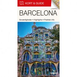 Kort & Guide – Barcelona: Seværdigheder • Highlights • Praktisk info