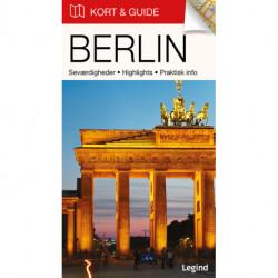 Kort & Guide – Berlin: Seværdigheder • Highlights • Praktisk info