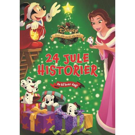Disney Julekalenderbog: Disney Julekalenderbog med 24 forseglede Disney juleeventyr!